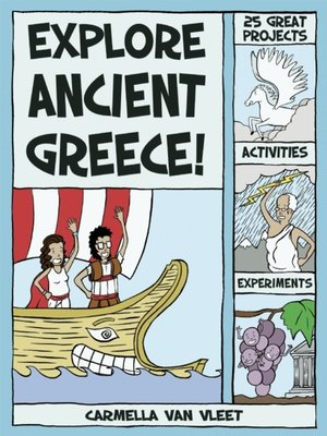cover image of Explore Ancient Greece!